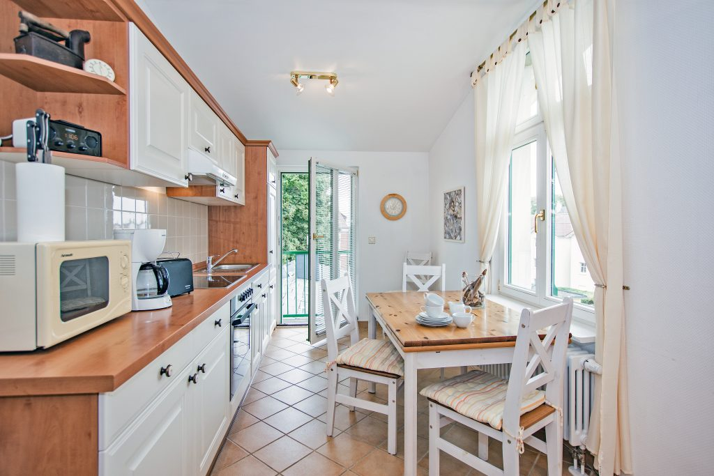 Ferienwohnung 8 Villa-Waldblick Küche